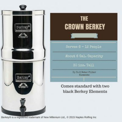 crown berkey water filter