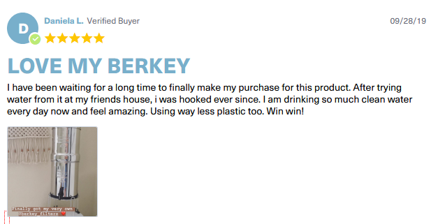 travel berkey testimonials