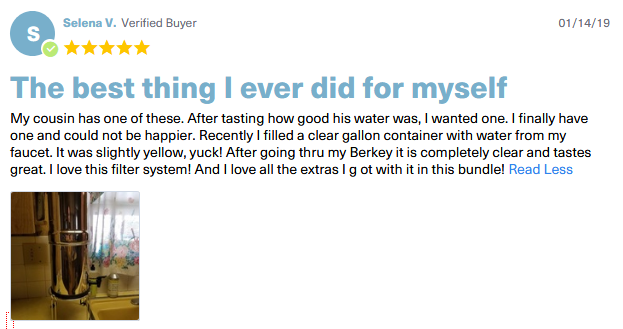 berkey travel testimonials